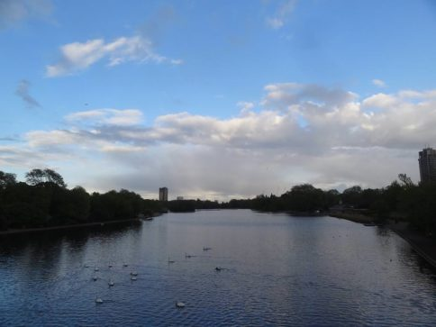 Serpentine Lake no Hyde Park